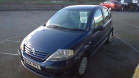 CITROEN C3 Desire, 104 Petrol, 5 Door Hatchback, 105,000 miles, Only 1 Former Keeper,2004-54 plate