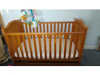 Baby cot, cot bed, Tutti bambini jake, cot mobile