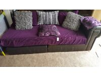 X2 Beautiful Sofas Bargain DELIVERY AVAILABLE quick sale Need space