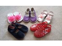 Girl/child shoes and sandals for sale. Size 9. Excellent condition.