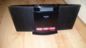 Panasonic SC-HC10 Audio Compact Stereo Shelf System, CD & Radio.