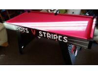 5ft Spots v Stripes Pool Table
