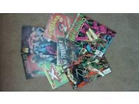 Various vintage comics