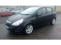 vauxhall corsa exclusive aircon 2012 12 plate 5door fiesta punto cheap