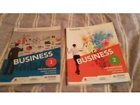 A Level Business Books - Edexcel - Books 1 and 2 - New Syllabus