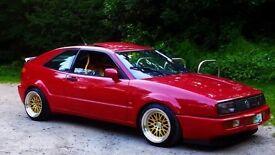 Corrado 1.8 8v G60, Tornado Red, Stage 4, Long MOT, Rust Free, Track Car Inspired, not VR6 16V Golf