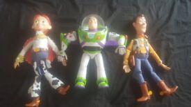 Buzz lightyear, woody & jessie doll