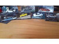 James Bond collectible cars