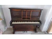 Adolf schuhmann upright piano