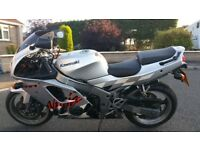 Kawasaki zx6r F3, 27521 miles, fork seals now leaking reduced price