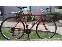 Steel bike, size 52