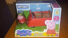 Brand new peppa pig car