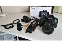 Canon 700d with 18-55mm Canon lens