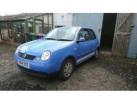 2000 VW Lupo SDI Blue Perfect learning car