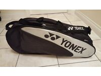 Yonex Badminton performance bag- black and silver