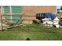 12' Metal field gate
