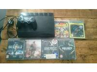 Ps3 superslim 12gb with 6 games