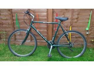 """Dawes 'Omega' mens bicycle: green, 23"""" frame, V-brakes, BARGAIN!"""