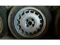 "Retro.... Volkswagen alloys 14"""