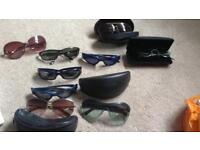 Job lot 9 pairs designer sunglasses