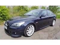 2006 BMW 530D M-Sport in Carbon Black **LONG MOT**F.S.H**LOTS OF EXTRAS**45MPG**Part Ex Welcome