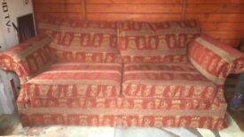 Beautiful three sera sofa