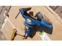 Table Vice Swivel Base + Anvil + 60mm Jaw + Work bench Clamp