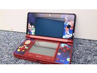 Nintendo 3ds LTD Edition with 358 uk Games