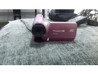 panasonic camcorder (pink)