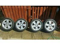"""Toyota auris SR180 17"""" inch alloys wheels"""