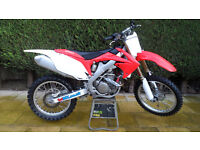 HONDA CRF250 EFI 2013 MODEL 4 STROKE MOTORCROSS CRF IN EXCELLENT CONDITION 88 HOURS FROM NEW