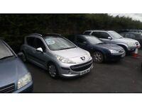 Peugeot 207 1.4 petrol mot 12 months