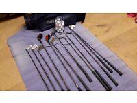 Golf Club Set including Mizuno bag and golf balls. REDUCED PRICE!