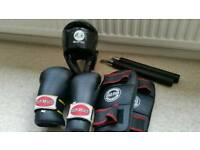 Goldstar kickboxing equipment