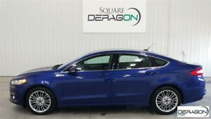 2015 Ford Fusion SE  + TRACTION INTÉGRALE + CUIR + LUXURY PACK