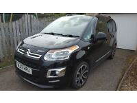 Citroen c3 picasso exclusive with black pack