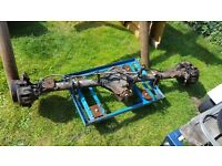 mercedes sprinter, vw lt rear axle