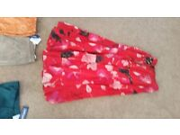 Brand new 2 floral patterned skirts size 10