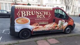 Mobile Food Catering/Coffee Van - with established sites in Burgess Hill & Brighton