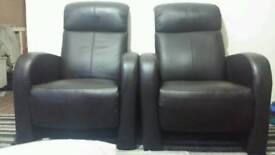 ELECTRIC RISE RECLINER LEATHER SOFA ARMCHAIR