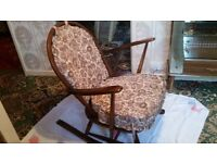 Ercol Wooden Rocking Chair