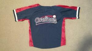 Kids: Authentic Cardinals baseball shirt Kitchener / Waterloo Kitchener Area image 2