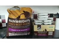 Wainwright's puppy food