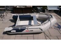 INFLATABLE DINGHY HONWAVE 270 2.7M , DINGY TENDER RIB BOAT