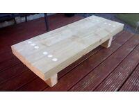 Reclaimed Wood Coffee/Patio Table