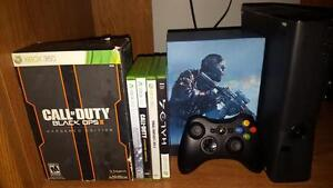 250Gb xbox 360 with games