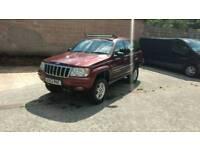 2000 Jeep Grand Cherokee 4.7 V8 LPG off road. 4 inch lift