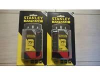 2XStanley FatMax -8-11-700 Utility Blade Pack of 100