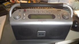 Roberts DAB radio rd20 spares or repairs