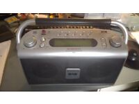Roberts DAB radio rd20 spares or repairs